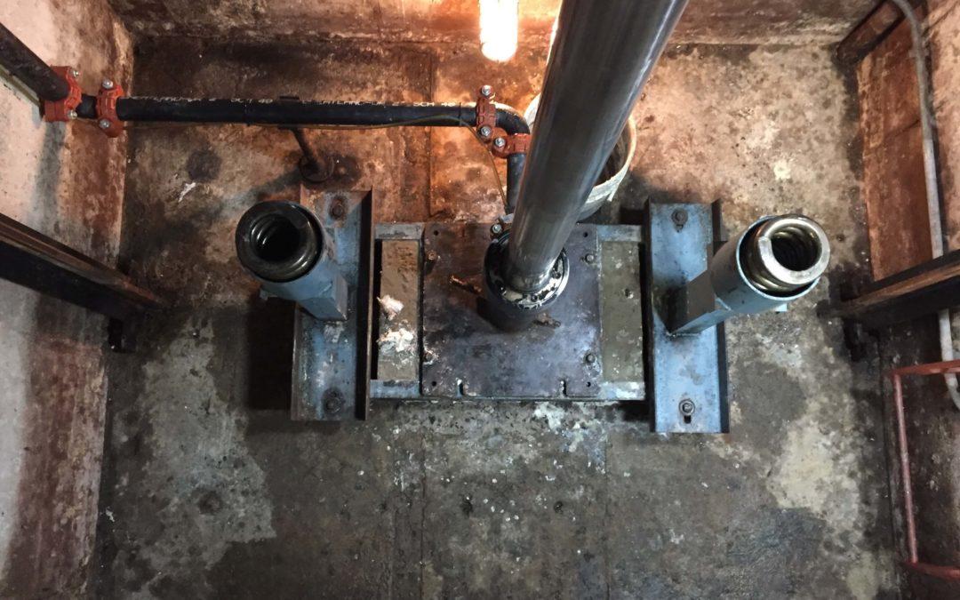 Elevator Pit Waterproofing