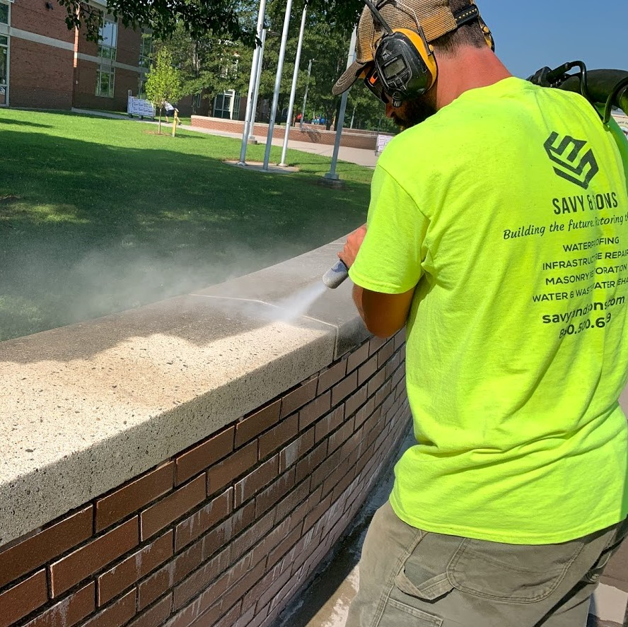 masonry & waterproofing services